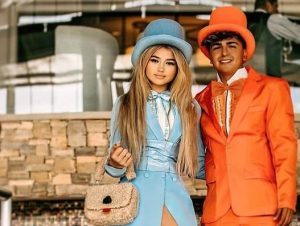 Khia Lopez with her boyfriend 300x226 - Khia Lopez Biography,Measurements,Age,Height,Weight,Net Worth,Family,Profile,Facts