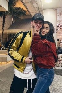 Corbyn with his girlfriend Christina Marie Harris 201x300 - Corbyn Besson Biography,Measurements,Age,Height,Weight,Net Worth,Family,Profile,Facts